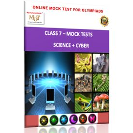 Class 7, Online Mock tests, Science+ Cyber