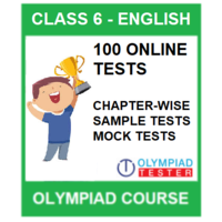 Class 6 English Olympiad Course with 100 Online tests