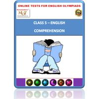 Class 5, Comprehension, Online test for English Olympiad
