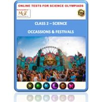 Class 2, Occasions & Festivals, Online test for Science Olympiad
