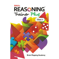 Class 3- Reasoning trainer plus, Mental Ability ( With Solution Book)