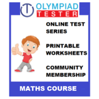 Class 4 Maths Olympiad course (Online test series+ Printable Worksheets+ Community Membership)
