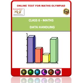 Class 6, Data handling, Online test for Math Olympiad