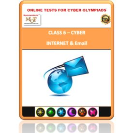 Class 6, Internet & email, Online test for Cyber Olympiad