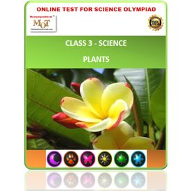 Class 3, Plants, Online test for Science Olympiad