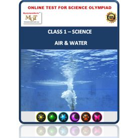 Class 1- Air & water- Online test for Science Olympiad