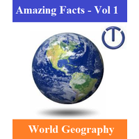 Online Encyclopedia of 2000 Amazing Facts, World Geography (Volume 01)