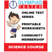 Class 6 Science Olympiad Course (Online test series+ Printable Worksheets+ Community Membership)