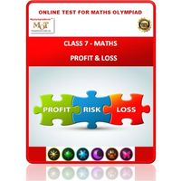 Class 7, Profit & Loss, Online test for Math Olympiad