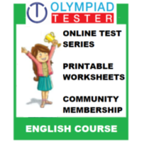 Class 5 English Olympiad course (Online test series+ Printable Worksheets+ Community Membership)