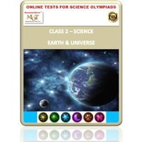 Class 2, Earth & Universe, Online test for Science Olympiad
