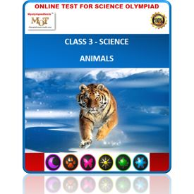 Class 3, Animals, Online test for Science Olympiad