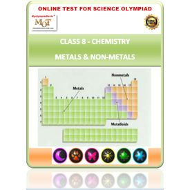 Class 8, Metals & Non metals, Science Olympiad online test,