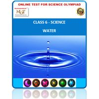 Class 6, Science Olympiad online test, Water