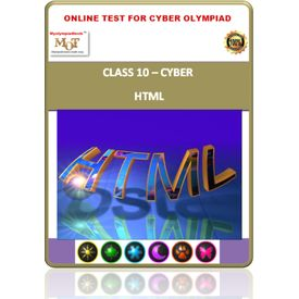 Class 10, HTML, Online test for Cyber Olympiad