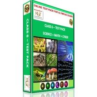 Class 6, Online test pack, Science+ Math+ Cyber