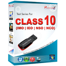 Class 10- Combo Pack (IMO / NSO / IEO / NCO) Pen Drive