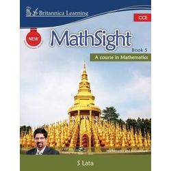 New MathSight With Practice Book 5 (With CD)