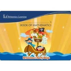 Britannica s Early Steps- Book of Mathematics- LKG- Paperback