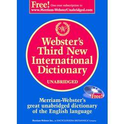 Webster s Third New International Dictionary, Unabridged