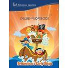 Britannica's Early Steps– English Workbook- LKG- Paperback