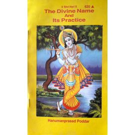 Gita Press- The Divine Name And Its Practice By Hanumanprasad Poddar
