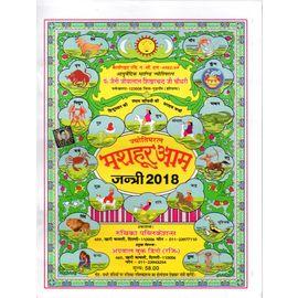 Mashoor Aam Jantri- 2018 (Hindi)