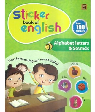 Sticker Book Of English Alphabets Letters & Sounds