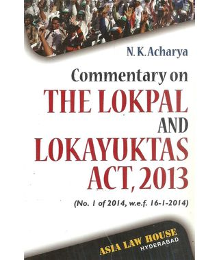 The Lokpal and Lokayuktas Act, 2013