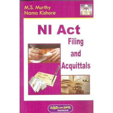 NI Act Filing and Acquittals