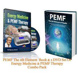 PEMF Book & 3 DVD Set Combo Pack