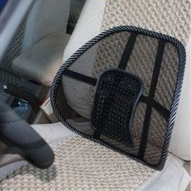 Car Seat Massage Chair Back Lumbar Support Mesh Ventilate Cushion Pad