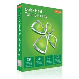 Quick Heal Total Security antivirus - 2 PCs, 3 Years (DVD)