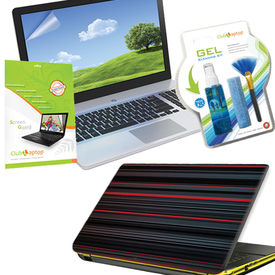 Clublaptop 3 in1 laptop care kit (Laptop Cleaning Kit+ 15.6 inch Laptop Screen Guard+ Laptop Skin)