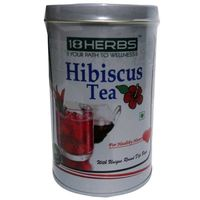 Pack of 2 -18Herbs Hibiscus Tea 40+ 40 Tea Bags For Healthy Heart - Unique Round Dip Bags