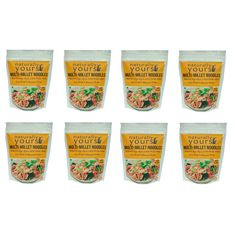 Naturally Yours Multi-Millet Noodles 45G (Pack of 8)