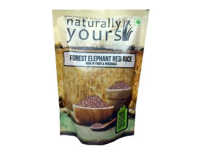 Forest Elephant (Kaatuyanum) Red Rice 450g