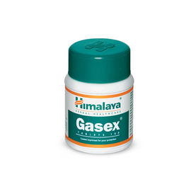 Himalaya Gasex TABLETS Improves digestion. Relieves gaseous distension