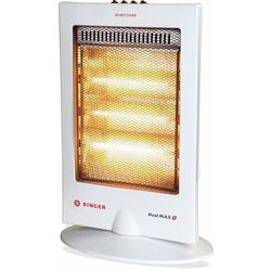 Singer Heat Max Plus 1200 Watts Halogen Room Heater