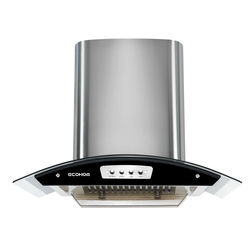Ecohom Encore 1100m3/hr Suction with Big Baffle Filter Kitchen Chimney
