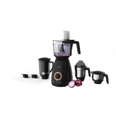 Philips HL7707/00 750-Watt Mixer Grinder with 4 Jars (Black)
