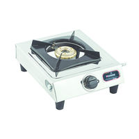 Sunshine Mini Single Burner Stainless Steel Gas Stove, lpg, manual