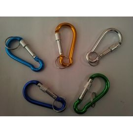 Set of 2Pcs Hiking Aluminium Carabiner Camping Hook keychain Key chain