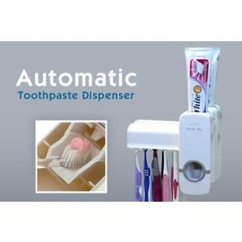 Imported Automatic Toothpaste Dispenser Toothbrush Holder Sets