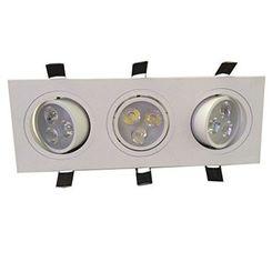 Luminac COB LED Recessed Spotlight - LFLL 304, 6000k / 6420lm