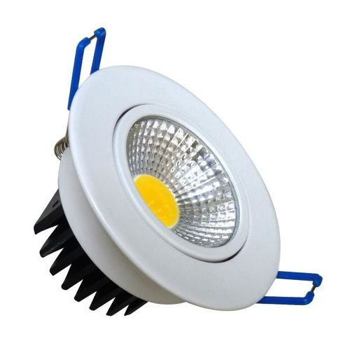 Luminac COB LED Recessed Downlighter - LFLL 285A, 6000k / 600lm