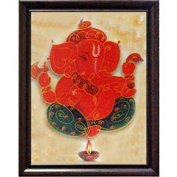 Ganesha Jyotideep, 8 x 10 inches