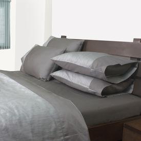 Mark Home Reversible Duvet Cover Single Grey