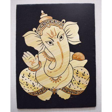 OHS013: Lord Gaesha art and craft using straw