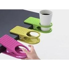 Clip Coffee Tea Cup Mug Table holder Innovative Clip Cup Holder